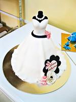 """Торт """"Платье принцессы""""-1"""