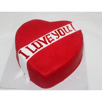 "Торт ""Красное сердце"""
