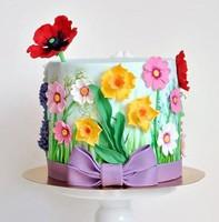 """Торт """"Полевые цветы"""""""