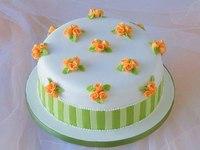 """Торт """"Вальс цветов"""""""