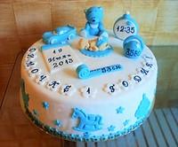 """Торт """"Первый год"""""""