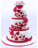"Торт ""Любящие сердца"""