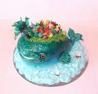 """Торт """"Чудо-юдо рыба кит"""""""