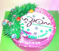 """Торт """"Новогодний сюрприз"""""""