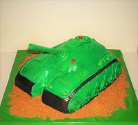 "Торт ""Танк"""