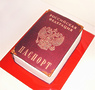 """Торт """"Паспорт"""""""
