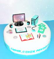 """Торт """"Компьютерный гений"""""""