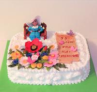 """Торт """"Прекрасный сад""""-2"""