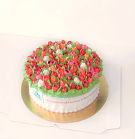 "Торт ""Букет для мамы"""