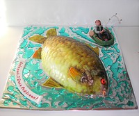 "Торт ""Рыболов"""