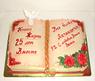 """3D Торт """"Книга жизни"""""""