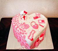 """Торт """"Для девочки"""""""