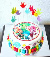 """Торт """"Веселая семья"""""""