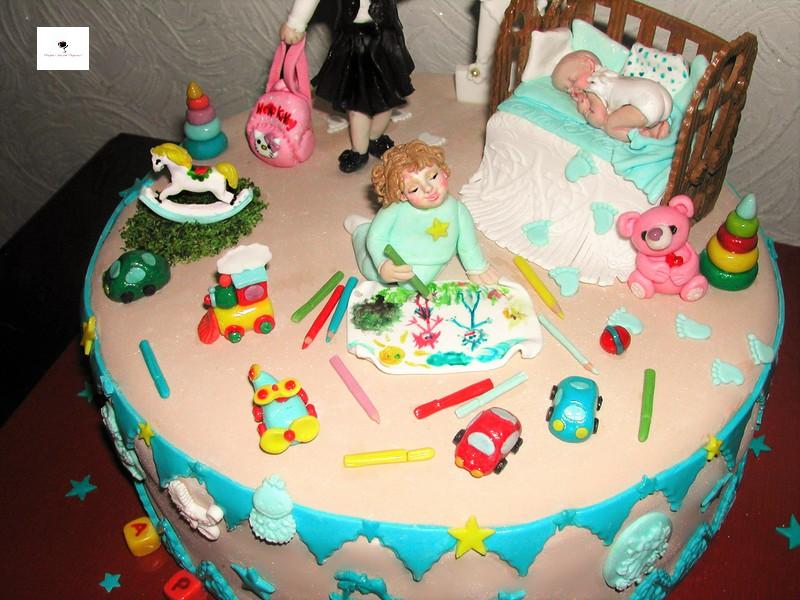 Торт солнечные зайчики фото 3