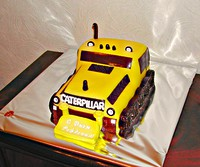 "3D Торт ""Бульдозер"""