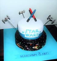 """Торт """"Звездные войны"""""""