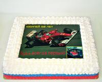 "Торт ""Формула 1"""