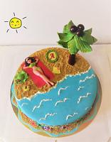 "Торт ""Мечты о море"""