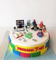"""Торт """"Компьютерный гений""""-1"""