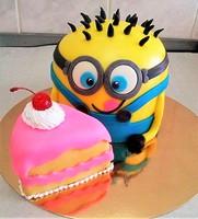 """Торт """"Миньон с пирожным"""""""