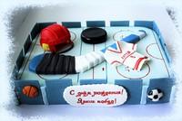 """Торт """"Хоккеист""""-2"""