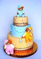 "Торт ""Веселые медведи"""