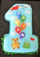"""Торт """"1 годик""""(2)"""